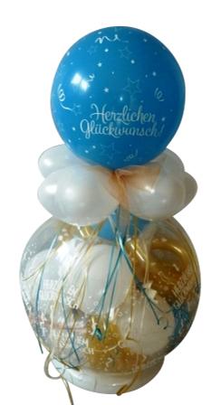 Kommunion Konfirmation Jugendweihe Geschenk Ballon Geldgeschenk