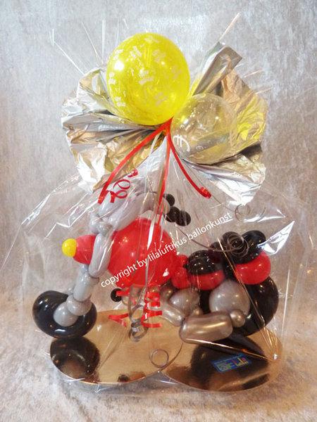 motorrad harley davidson ballons geschenkverpackung geldgeschenk. Black Bedroom Furniture Sets. Home Design Ideas