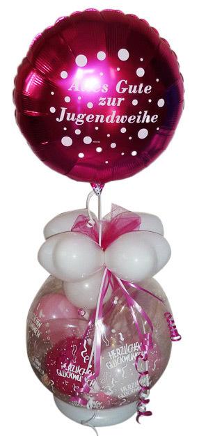 Verpackungsballon Jugendweihe Junge Madchen Geschenk Im Ballon