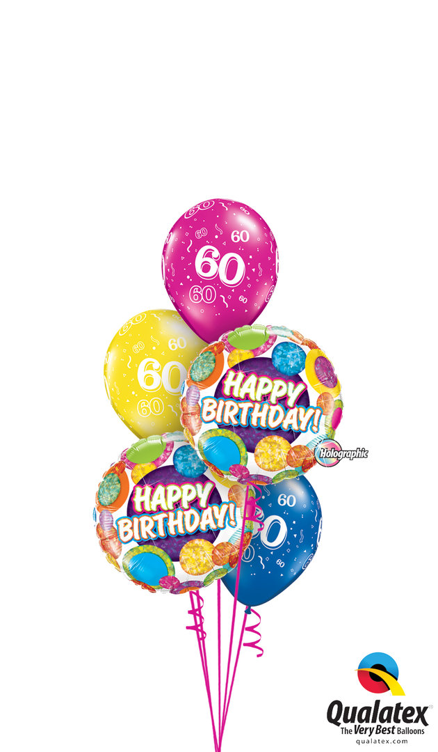 Balloon Bouquet Gift Wedding Birthday Mothers Birth Confirmation