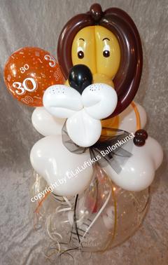 Geschenk Im Ballon Lowe Konig Der Lowen Musical Geldgeschenk