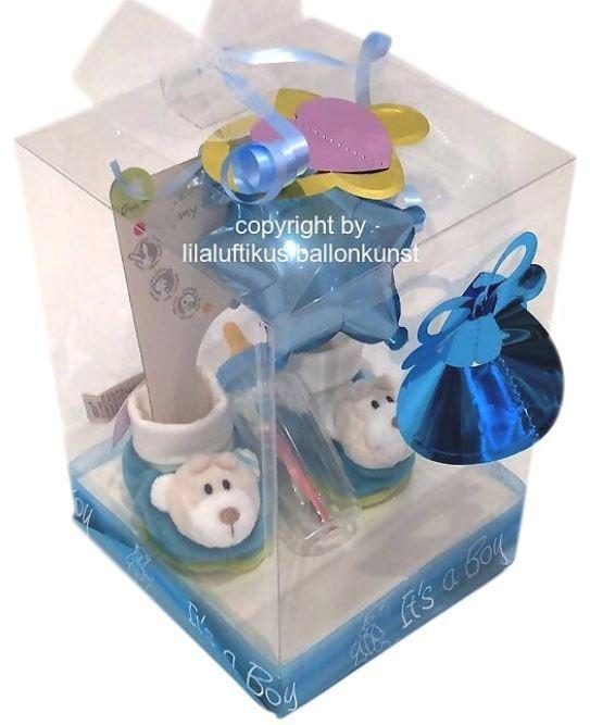 Geschenkbox Für Baby Kind Junge Zur Geburt Oder Taufe