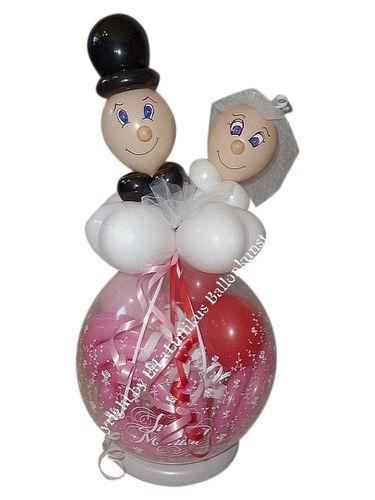 Silberhochzeit Geschenk Im Ballon Luftballon Geschenkverpackung