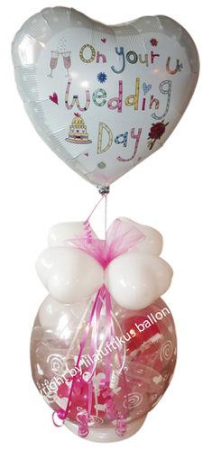 Hochzeit Geschenk Im Ballon Luftballongeschenk Geld Geldgeschenk
