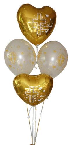 Ballongeschenke Kommunion Konfirmation Jugendweihe Geldgeschenk