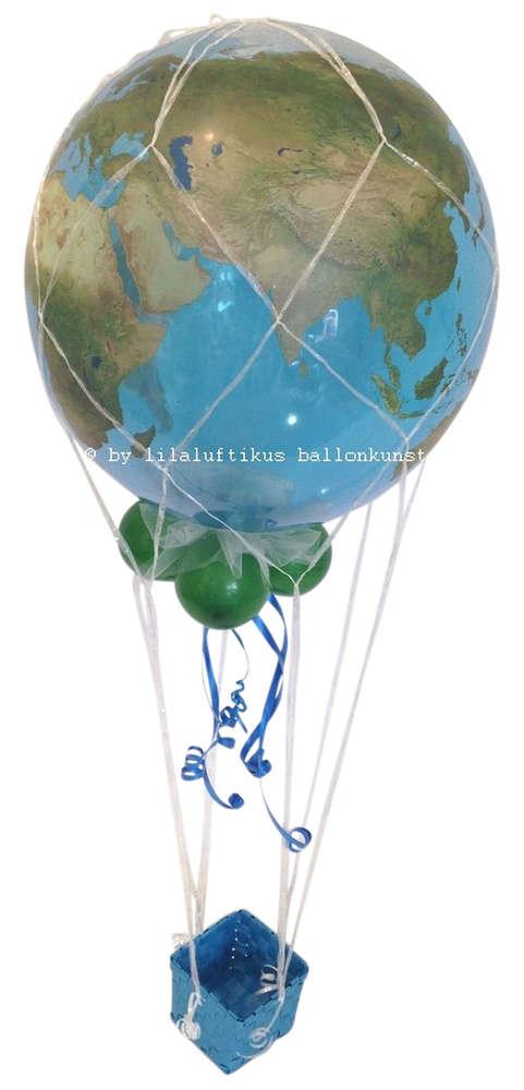 Fesselballon Heissluftballon Urlaub Reise Geldgeschenk