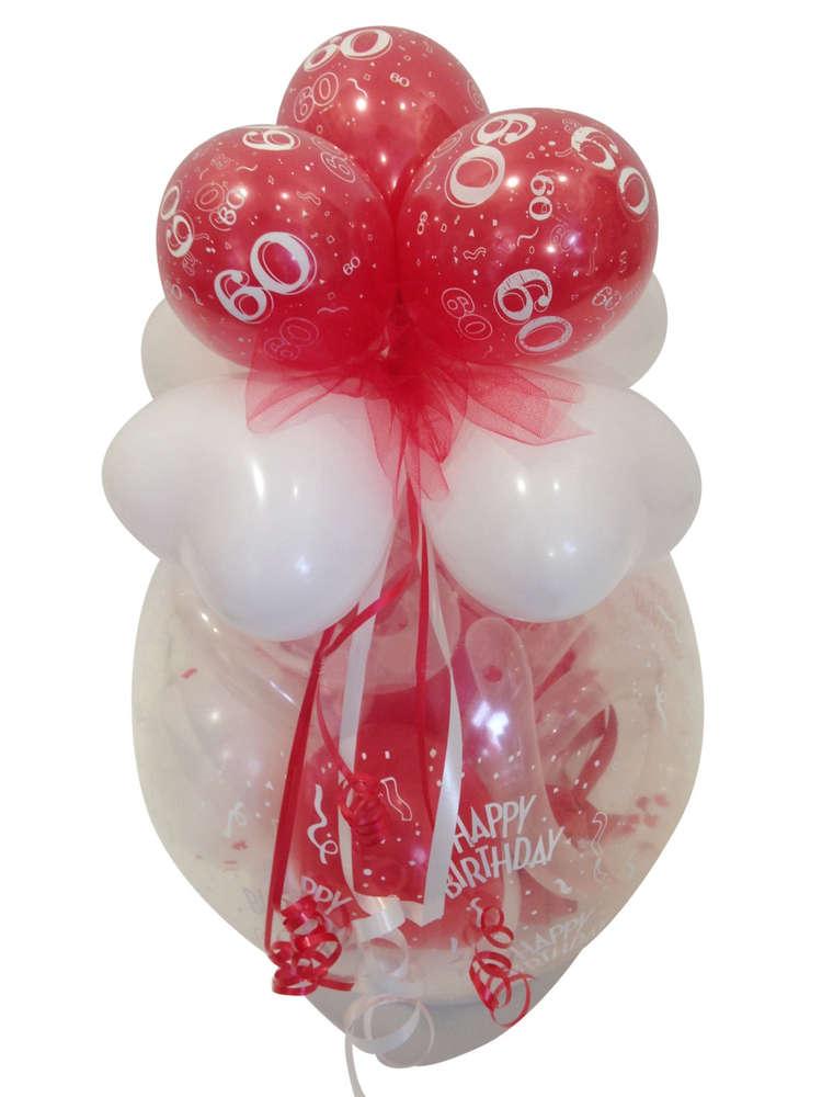 Geschenk Im Ballon Runder Geburtstag Ballongeschenk Geldgeschenk