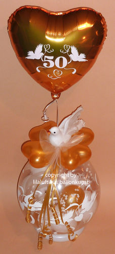 hochzeit geschenk im ballon luftballongeschenk geld geldgeschenk. Black Bedroom Furniture Sets. Home Design Ideas