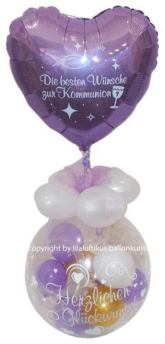 Geschenk Ballon Konfirmation Jugendweihe Kommunion Geldgeschenk