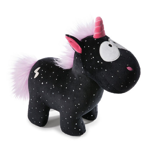 Kuscheltier Theodor and Friends Einhorn Carbon Flash schwarz 35cm