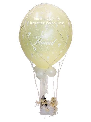 Geschenk im ballon zu hochzeit geburtstag geburt taufe for Hochzeit geldgeschenk hohe