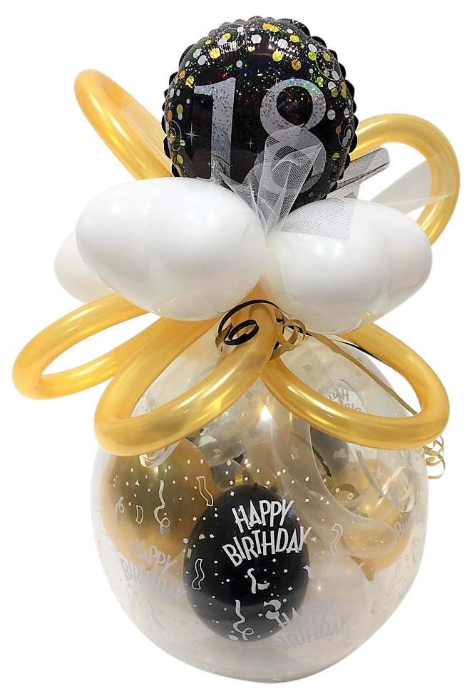 Helium Luftballon Zahl 18 Zum 18 Geburtstag 28 Cm