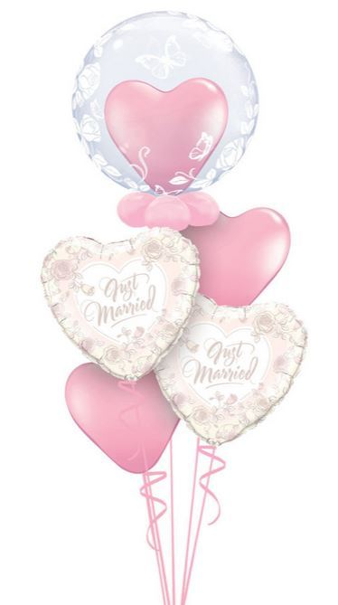 Geschenkballon zur hochzeit geschenk im luftballon - Bilder verschenken ...